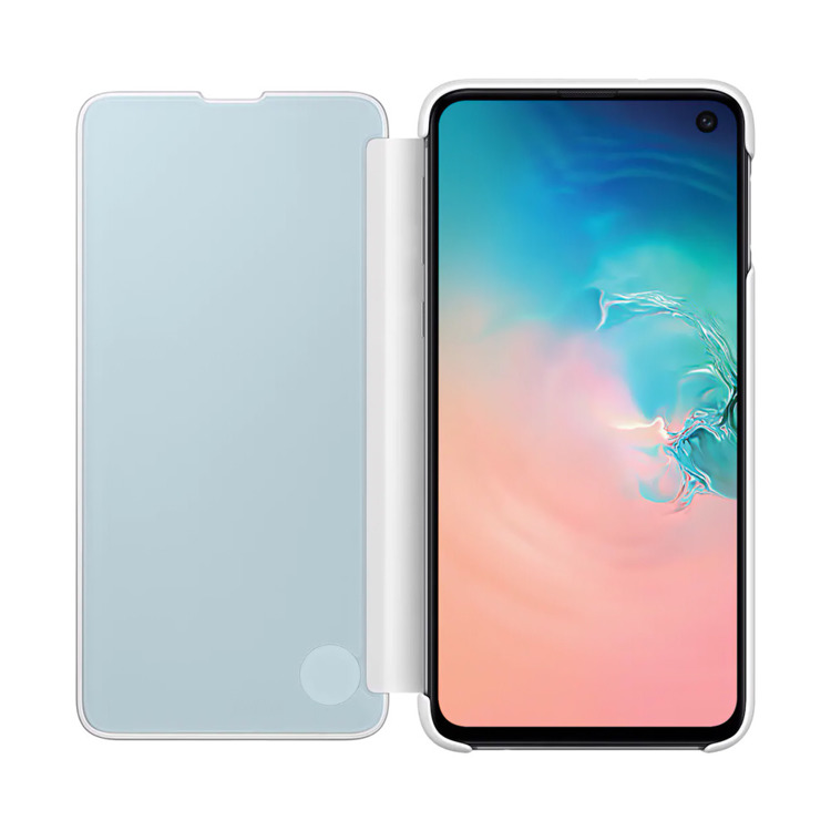 Etui Samsung CLEAR View Cover Biały do Galaxy S10e (EF-ZG970CWEGWW)