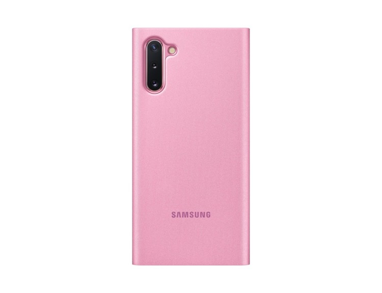 Etui Samsung CLEAR View Cover Różowy do Galaxy Note 10 (EF-ZN970CPEGWW) /OUTLET