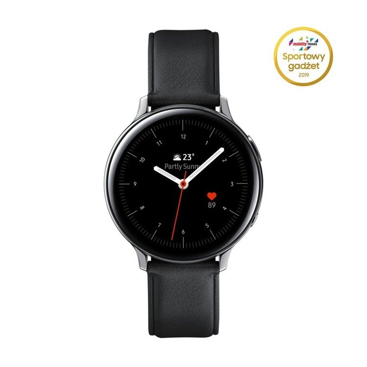 Samsung Galaxy Watch Active 2 Stal Srebrny 44mm (SM-R820NSSAXEO) /OUTLET